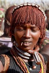 Femme de la tribu Hamer (jmboyer) Tags: eth7242 ©jmboyer afriquedelest eastafrica géo