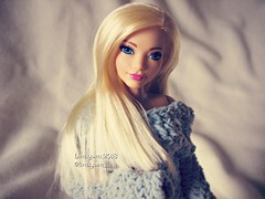 Morning (Linayum) Tags: barbie barbiedoll barbiecurvy curvybarbie mattel doll dolls muñeca muñecas toys toy juguetes handmade crochet ganchillo linayum