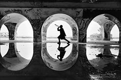 The human voice is the organ of the soul (Jordan_K) Tags: bw artistic art silhouettes voice heart music sound abandoned cinematic scenic