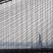 View through the Brooklyn Bridge