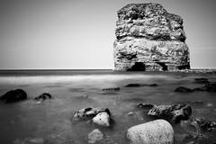 Marsden Rock (daveharman70) Tags: southtyneside sea seascape sealife beachlife water northsea northeast coast sony leefilters sun england spring rocks cliffs geology lighthouse landmark souter marsden longexposure north tide