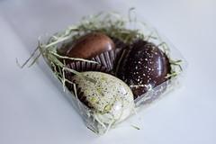 speckled (jojoannabanana) Tags: 3652018 chocolate easter eggs speckled
