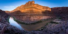 Slickhorn Sunrise (ashergrey) Tags: utah san juan river raft rafting sunrise landscape panorama pano slickhorn bears ears navajo nation