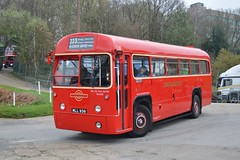 RF518 MLL936 (PD3.) Tags: f518 rf 518 mll936 mll 936 aec regal weymann transport surrey museum brooklands lbpt cobham annual bus buses coach spring gathering preserved vintage preservation trust 2018 london weybridge