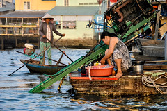 Life on river, Can Tho (Valdas Photo Trip) Tags: vietnam can tho mekong river delta