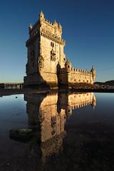 Belem Mirror (alex notag) Tags: tour belem torre mirror reflection tisbon lisbonne lisboa