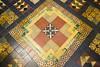 18FEB26 SLYNNLEE-6006 (Suni Lynn Lee) Tags: dublin saintpatrickscathedral stpatrick saint patrick cathedral gothic patchwork orange colorful pattern catholic church floor tile nave geometric