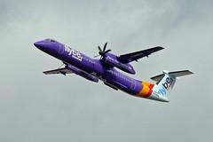 G-PRPN DHC-8Q 402 flyBe MAN 18-04-18 (PlanecrazyUK) Tags: egcc manchester man ringway manchesterairport gprpn dhc8q402 flybe 180418