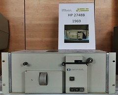 HP 2748B Paper Tape Reader (stiefkind) Tags: vcfe vcfe19 vintagecomputing hp2748b hp papertape tapereader papertapereader