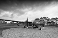 Lockheed Neptune (Eastern Davy) Tags: lockheedneptune lockheed aircraft relic raf museum cosford outdoor cloudy bw