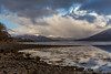 Early morning light on the mountains (sarahOphoto) Tags: explored explore eil loch scotland scottish highlands lochaber water reflection mountain mountains snow snowcapped capped early morning light clouds sky landscape beach stones pebbles rocks uk united kingdom nature canon 6d countryside outdoors