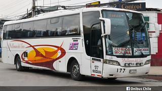 Busscar Vissta Buss Lo / Pullman del Sur / Nº 177