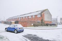 Haig Road (Crusty Streets) Tags: haig road chadwell st mary thurrock essex england uk snow ice mini