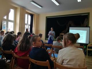 28.03.2018 – prowadziliśmy ewangelizację w jednej z katowickich szkół
