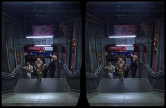 Berlin, Friedrichstraße 3-D / CrossView / Stereoscopy / HDRaw (Stereotron) Tags: berlin spreeathen mitte metropole hauptstadt capital metropolis brandenburg city urban streetphotography citylife passanten friedrichstrase neon europe germany deutschland crosseye crossview xview pair freeview sidebyside sbs kreuzblick 3d 3dphoto 3dstereo 3rddimension spatial stereo stereo3d stereophoto stereophotography stereoscopic stereoscopy stereotron threedimensional stereoview stereophotomaker stereophotograph 3dpicture 3dimage twin canon eos 550d yongnuo radio transmitter remote control synchron kitlens 1855mm tonemapping hdr hdri raw availablelight