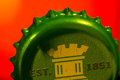 Jagged (G_HOWDEN) Tags: macromondays jagged edge bottle cap crown b