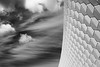 Abstract MAAT (The Green Album) Tags: maat museum art architecture technology riba lisbon portugal tiles tiling bw monochrome clouds wispy contrast white fujifilm xt2 modern contemporary