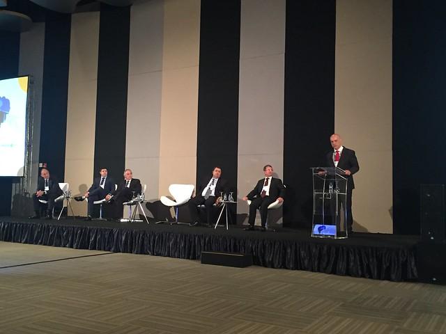 Secretário Marcelo Caetano participa de encontro sobre Previdência Complementar promovido pela Abrapp, em Brasília. (Foto: Sprev/MF 3.5.2018)