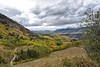 Looking Ahead (Jim Johnston (OKC)) Tags: lastdollarroad telluride dallasdivide goldenaspens snowcappedmountains snowclouds colorado sanjuanmountains