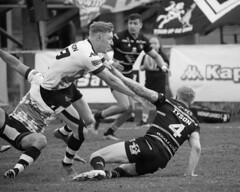 """Toronto Wolfpack vs Swinton Lions • <a style=""""font-size:0.8em;"""" href=""""http://www.flickr.com/photos/10545530@N06/41210578784/"""" target=""""_blank"""">View on Flickr</a>"""