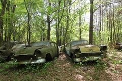 IMG_5903 (mookie427) Tags: urbex urban explore exploration explorers exploring ue derelict abandoned decay decayed ruin ruined car graveyard scrapyard old junkyard rusty rusted classic cars city georgia usa