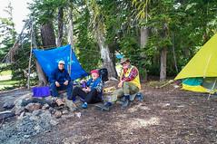 Jason, Ken & Ron at our camp at Upper River Camp (Ken Zaremba) Tags: cascademountains geography goatrockswilderness group jason ken northamerica outdooractivities outdoorsports ron snoqualmienationalforest travelers unitedstates upperrivercamp washington washingtonstate backpacking camping hiking travel yakima geo:lon=12137176036111 geo:state=washington geo:lat=46489115333333 geo:country=unitedstates geo:location=unnamedroad geo:city=yakima