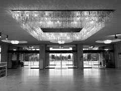 Welcome (R.i.c.a.r.d.o.) Tags: sofia bulgaria bw black white blackwhite door entry lamp light