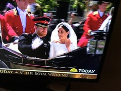 147/365/7 (f l a m i n g o) Tags: love broadcast tv carriage day meghan harry screenshot wedding royal saturday may 2018 19th 365days project365