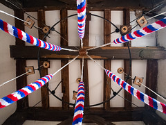 This rings a Bell, St Marys Church Stoughton. (Meon Valley Photos.) Tags: the aisle st marys church stoughton west sussex thisringsabell stmaryschurchstoughtonngcbellropes
