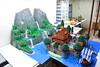 LEGO Frozen Arendelle Castle (ben_pitchford) Tags: lego disney frozen arendelle castle mountain waterfall river moc diorama