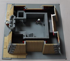Fort WIP (spud_the_viking) Tags: lego castle fort fortress redcoats corrington wip moc build work progress construction star