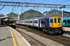 2018-05-14 @ Manchester Piccadilly: 2H65 1145 Manchester Airport-Manchester Piccadilly: 319380 [DSC_2440] (graeme9022) Tags: brel york british rail engineering limited electric multiple unit northern arriva white grey purple blue livery west england north uk train station local regional stopping service travel transportation transport greater manchester passenger south electrification catenary