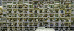 A lot of Windows (listermaraon) Tags: apartment windows building view clothes door grill roof underwear aircon steelgrill steel grills window sliding