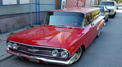 1960 Chevrolet  two-door Brookwood (D70) Tags: maywood burnaby britishcolumbia 1960 chevrolet twodoor brookwood samsung smg900w8 ƒ22 48 mm 1100 50