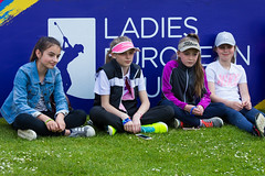 Players talk to young golfers about  their experiences (Ladies European Tour) Tags: denham buckinghamshire england eng