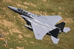 F15E (Dafydd RJ Phillips) Tags: ln308 eagle strike f15 f15e lakenheath loop mach low level fighter jet