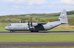 15748 USAF C130 - DYESS (Dougie Edmond) Tags: prestwick scotland unitedkingdom gb plane airplane aircraft airport egpk