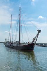 Ship (Leo Kramp) Tags: afsluitdijk ship flickr 2018 ijsselmeer kornwerderzand friesland nederland nl