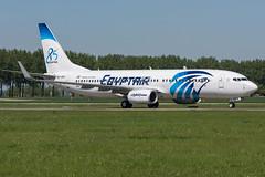 Egyptair / B738 / SU-GEH / EHAM Victor (_Wouter Cooremans) Tags: ams eham amsterdam amsterdamschipholairport amsterdamschiphol schiphol spotting spotter avgeek aviation airplanespotting egyptair b738 sugeh victor 85 years sticker 85yearssticker