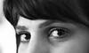 1950. (Canad Adry) Tags: mc pentacon auto 50mm f18 regard portrait noir et blanc black white eyes eye yeux girl woman femme skin peau 169 vintage old classic prime manual german lens bokeh