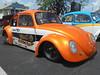 1967 Volkswagen Beetle (splattergraphics) Tags: 1967 volkswagen beetle vw dragcar ag pauladamsvwracing volksrod carshow arbutusartsfestival arbutusmd