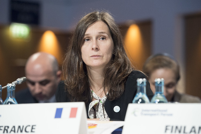 Virginie Dumoulin-Wieczorkiewicz attending the Closed Ministerial