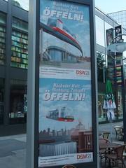 Den Öffel abgeben (mkorsakov) Tags: dortmund city innenstadt werbung commercial citylight öpnv dsw21 stadtwerke peinlich ridiculous