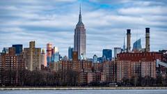 Empire State Building NY (christopherbischof) Tags: empirestatebuilding newyork newyorkskyline skyline wolkenkratzer skyscraper manhattan usa america amerika gebäude himmel wolken clouds heaven fujifilm fujifilmxt2