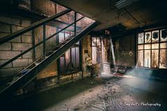 Stairway to... (Jay Art's) Tags: abandonedplaces jayartsphotography jayarts jay urbex urbanexploration urbanexploring hdr industry industrie metal canon1dxmarkii sigma85mm14art adobelightroom
