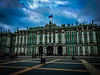 The Winter Palace (josephtcosta1) Tags: russia blue winter palace st petersburg torquiest flag russian tourism ominous sky color colour colourful