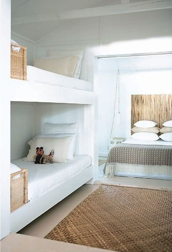 Furniture  - Bedrooms : ~ white + rattan