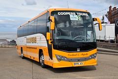 Coopers Tours - R70JCS (Transport Photos UK) Tags: killamarsh volvo sheffield blackpool plaxton ukcoachrally2018 adamnicholsontransport photos uk transport adamnicholson