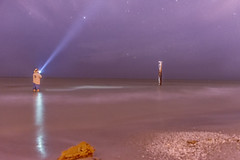 Star Gazing in the Gulf of Mexico (Ronnie Wiggin) Tags: stargazinginthegulfofmexicoatredingtonshores florida 2017 gulfofmexico redigntonshores sunsetattheredingtonshoresbeachflorida beach nightphotography rocks rwigginphotos sandybeaches sea seashells sunrise sunset waves â©ronniewiggin