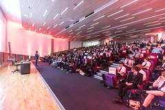 during the TEDxExeter 2018 livestream event in the University of Exeter Alumni Auditorium (TEDxExeter) Tags: tedxexeter exeter tedx tedtalks ted audience tedxevent speakers talks exeternorthcott northcotttheatre devon crowd inspiring exetercity tedxexeter2017 england eng